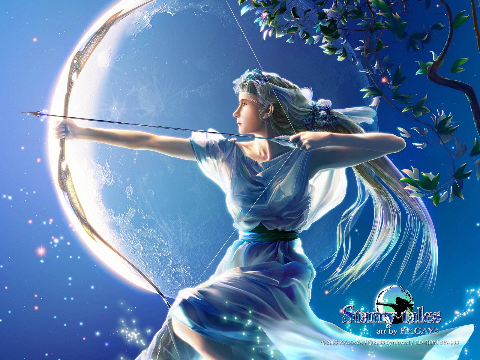 Art by kagaya starry tales artemis 2